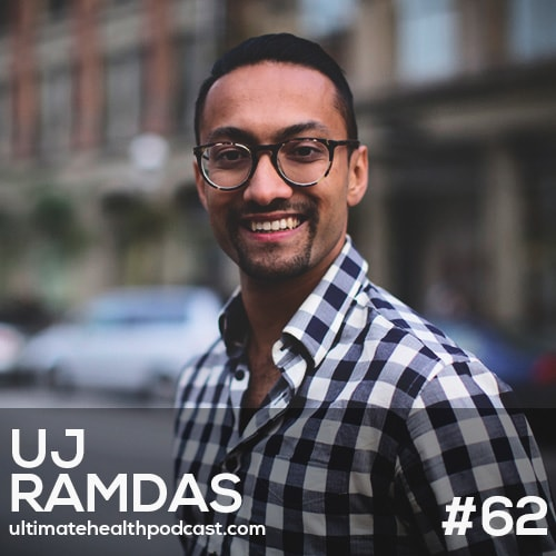 062: UJ Ramdas - The Five-Minute Journal | Pushing Through Your Comfort Zone | Develop An Attitude Of Gratitude