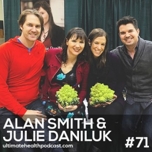 071: Alan Smith & Julie Daniluk – Fresh Coffee Is A Must | Gratitude Before Bed | Adrenal Burnout Can Lead To Allergies
