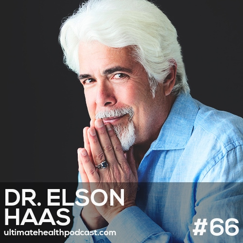 066: Dr. Elson Haas - Nutrition, The Foundation Of Health | Stop Stress In Its Tracks | Key Nutrients That Support Immunity