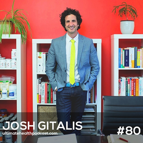 080: Josh Gitalis - Getting To The Root Of Depression & Anxiety | Protect Your Adrenals With Adaptogenic Herbs | Synthetic vs. Whole Food Supplements