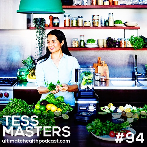 094: Tess Masters (The Blender Girl) - The Perfect Smoothie • Does Blending Destroy Nutrients? • Vitamix vs. Blendtec
