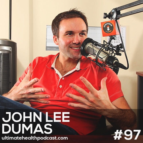 097: John Lee Dumas - A Solid Morning Routine Begins The Night Before • Don't Fall Prey To Imposter Syndrome • Setting and accomplishing BIG goals