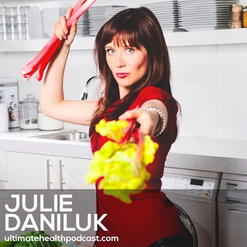 180: Julie Daniluk - Performance Enhancement • Your Adrenals Love Sea Salt • Stimulants vs. Adaptogens