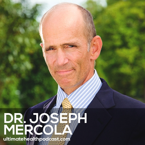 338: Dr. Joseph Mercola - EMF*D, The Issues With 5G, Cell Phones Are The Cigarettes Of The 21st Century
