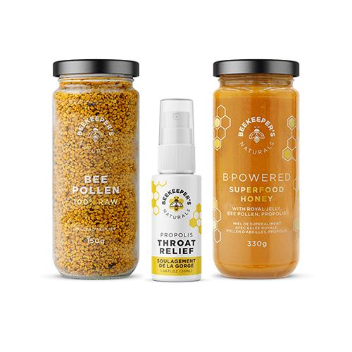 Beekeeper's Naturals Active Essentials
